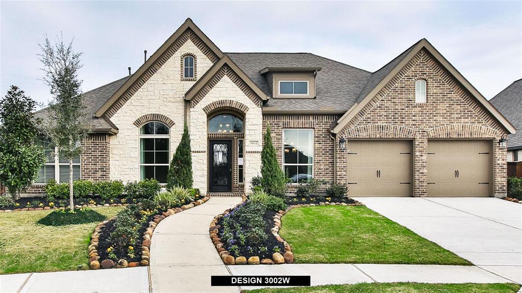 Model Home Design 3002W Exterior
