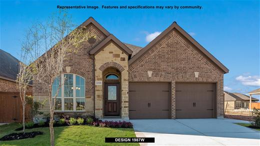 New Home Design, 1,987 sq. ft., 4 bed / 2.0 bath, 2-car garage