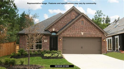 New Home Design, 2,316 sq. ft., 4 bed / 2.0 bath, 2-car garage
