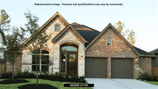 New Home Design, 3,117 sq. ft., 4 bed / 3.0 bath, 2-car garage
