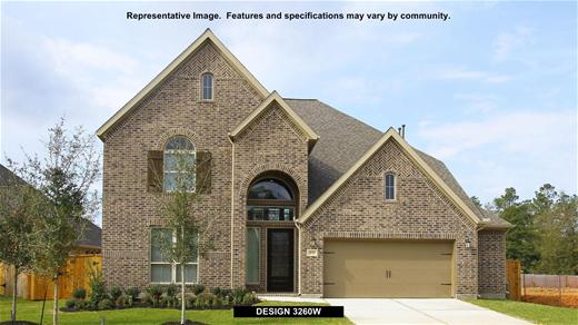 New Home Design, 3,260 sq. ft., 4 bed / 3.5 bath, 3-car garage