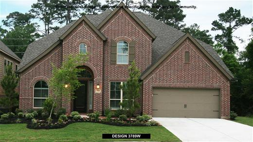 New Home Design, 3,789 sq. ft., 4 bed / 3.0 bath, 3-car garage