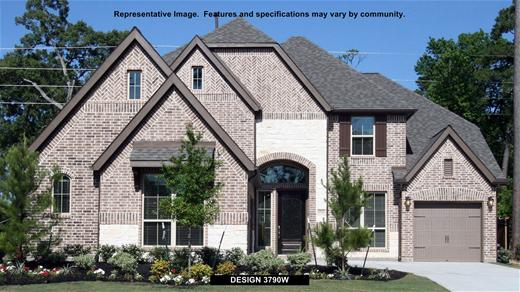 New Home Design, 3,790 sq. ft., 5 bed / 4.0 bath, 3-car garage