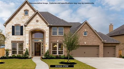 New Home Design, 3,795 sq. ft., 5 bed / 4.5 bath, 3-car garage