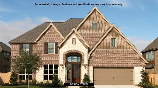 New Home Design, 3,796 sq. ft., 5 bed / 4.5 bath, 3-car garage