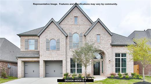 New Home Design, 4,606 sq. ft., 5 bed / 4.5 bath, 3-car garage