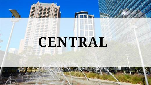 Central region - Central Houston