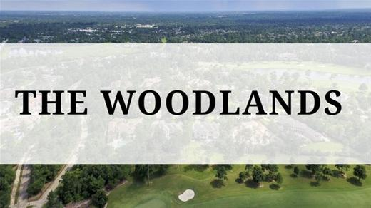The Woodlands region - Aerial view of The Woodlands