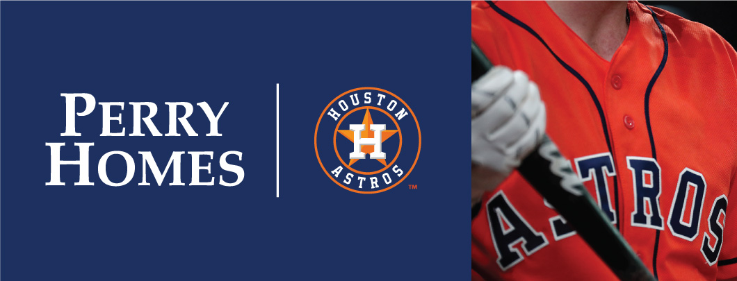 Perry Homes Official Homebuilder of the Houston Astros