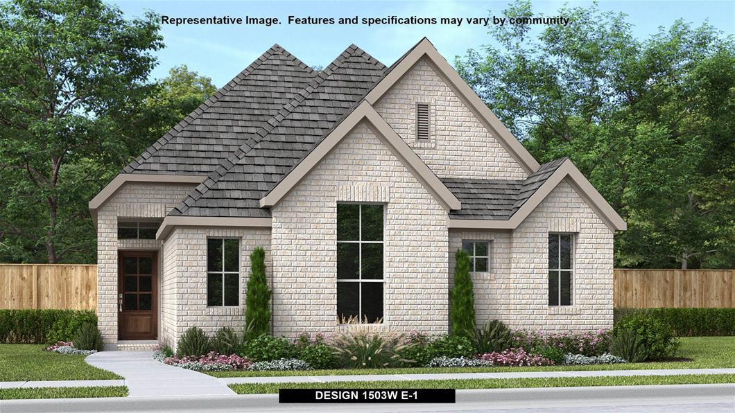 New Home Design, 1,503 sq. ft., 3 bed / 2.0 bath, 2-car garage
