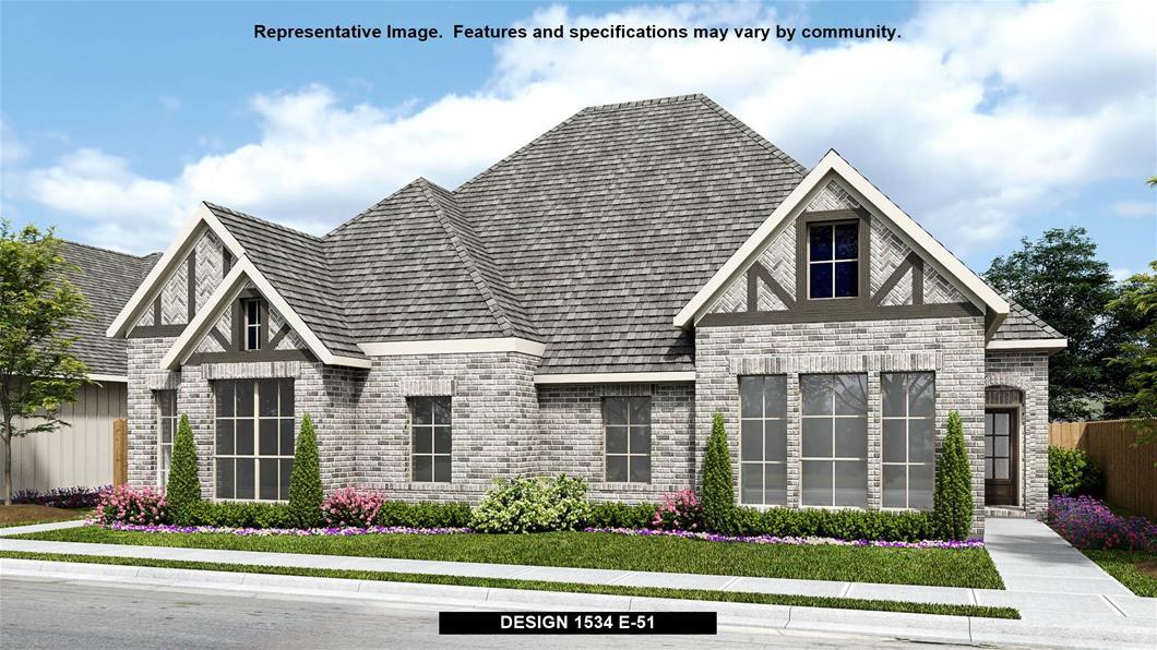 New Home Design, 1,534 sq. ft., 3 bed / 2.0 bath, 2-car garage