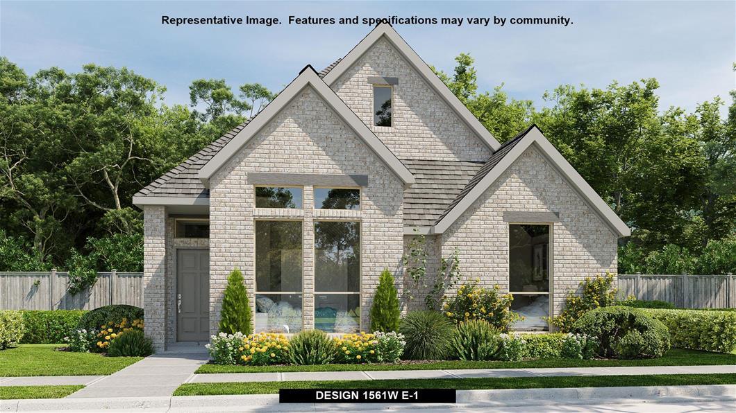 New Home Design, 1,561 sq. ft., 3 bed / 2.0 bath, 2-car garage