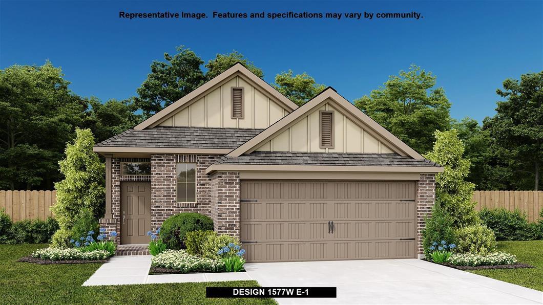 New Home Design, 1,577 sq. ft., 3 bed / 2.0 bath, 2-car garage
