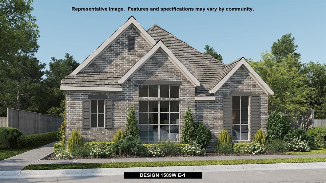 New Home Design, 1,589 sq. ft., 3 bed / 2.0 bath, 2-car garage