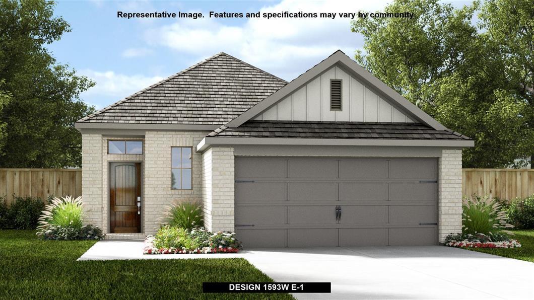 New Home Design, 1,593 sq. ft., 3 bed / 2.0 bath, 2-car garage