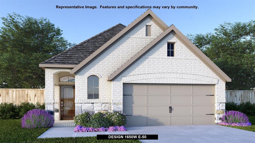 New Home Design, 1,650 sq. ft., 3 bed / 2.0 bath, 2-car garage