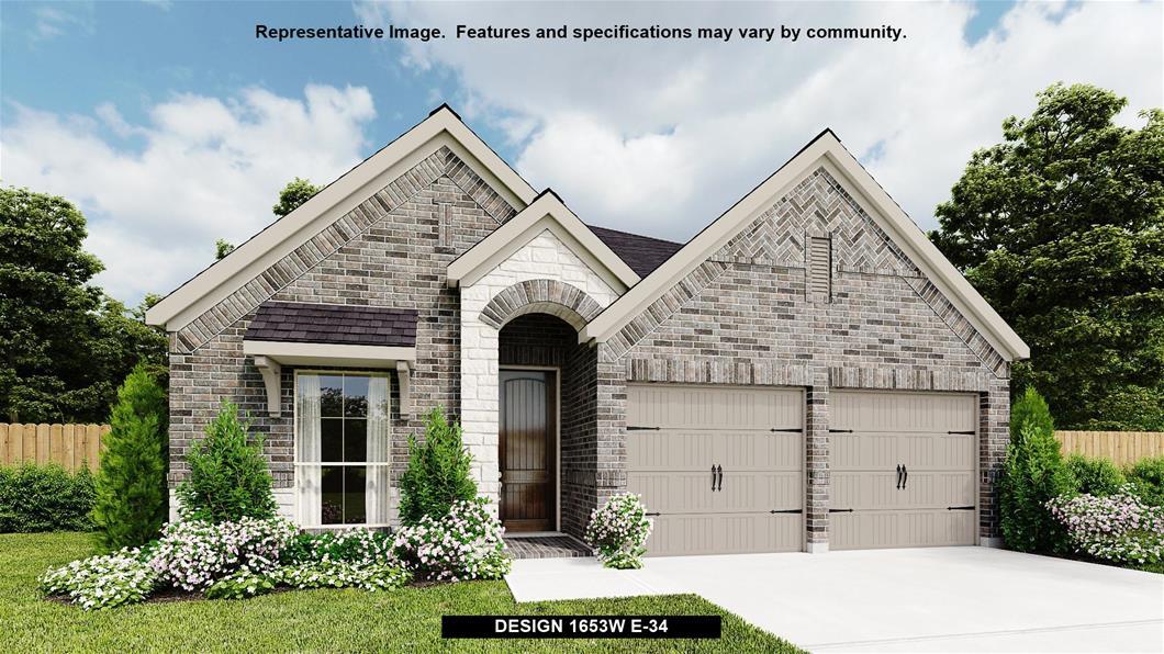 New Home Design, 1,653 sq. ft., 3 bed / 2.0 bath, 2-car garage