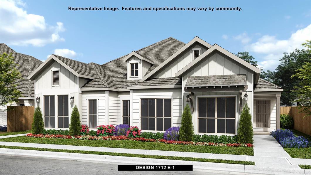 New Home Design, 1,712 sq. ft., 3 bed / 2.0 bath, 2-car garage