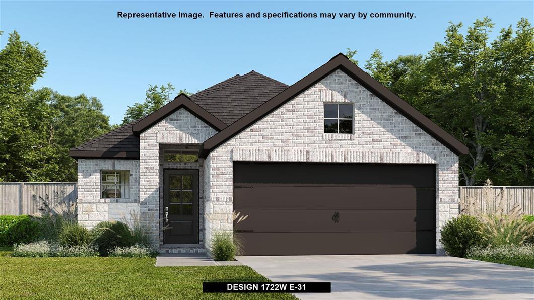 New Home Design, 1,722 sq. ft., 3 bed / 2.0 bath, 2-car garage