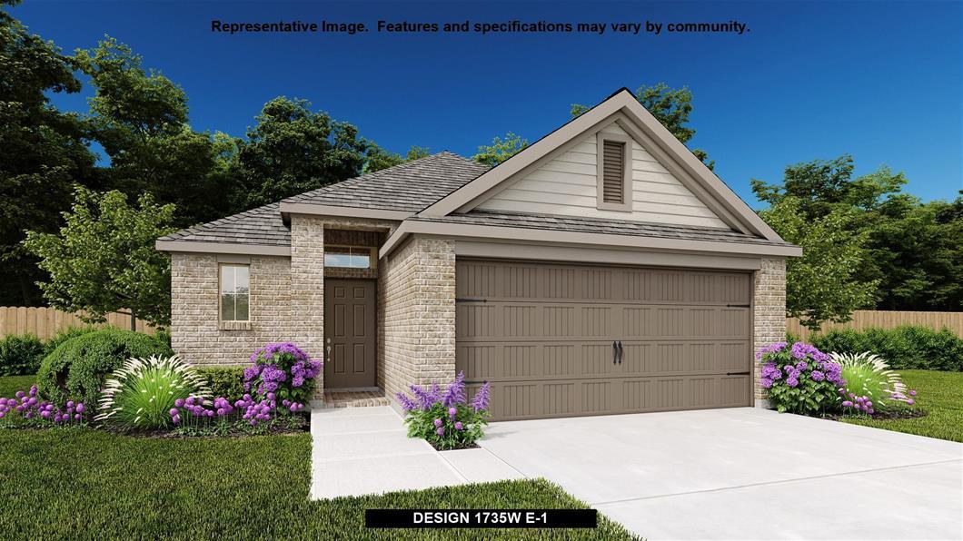 New Home Design, 1,735 sq. ft., 3 bed / 2.0 bath, 2-car garage