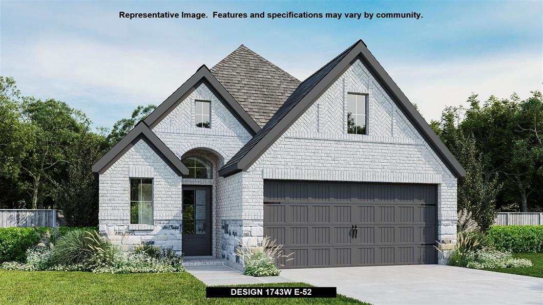 New Home Design, 1,743 sq. ft., 3 bed / 2.0 bath, 2-car garage
