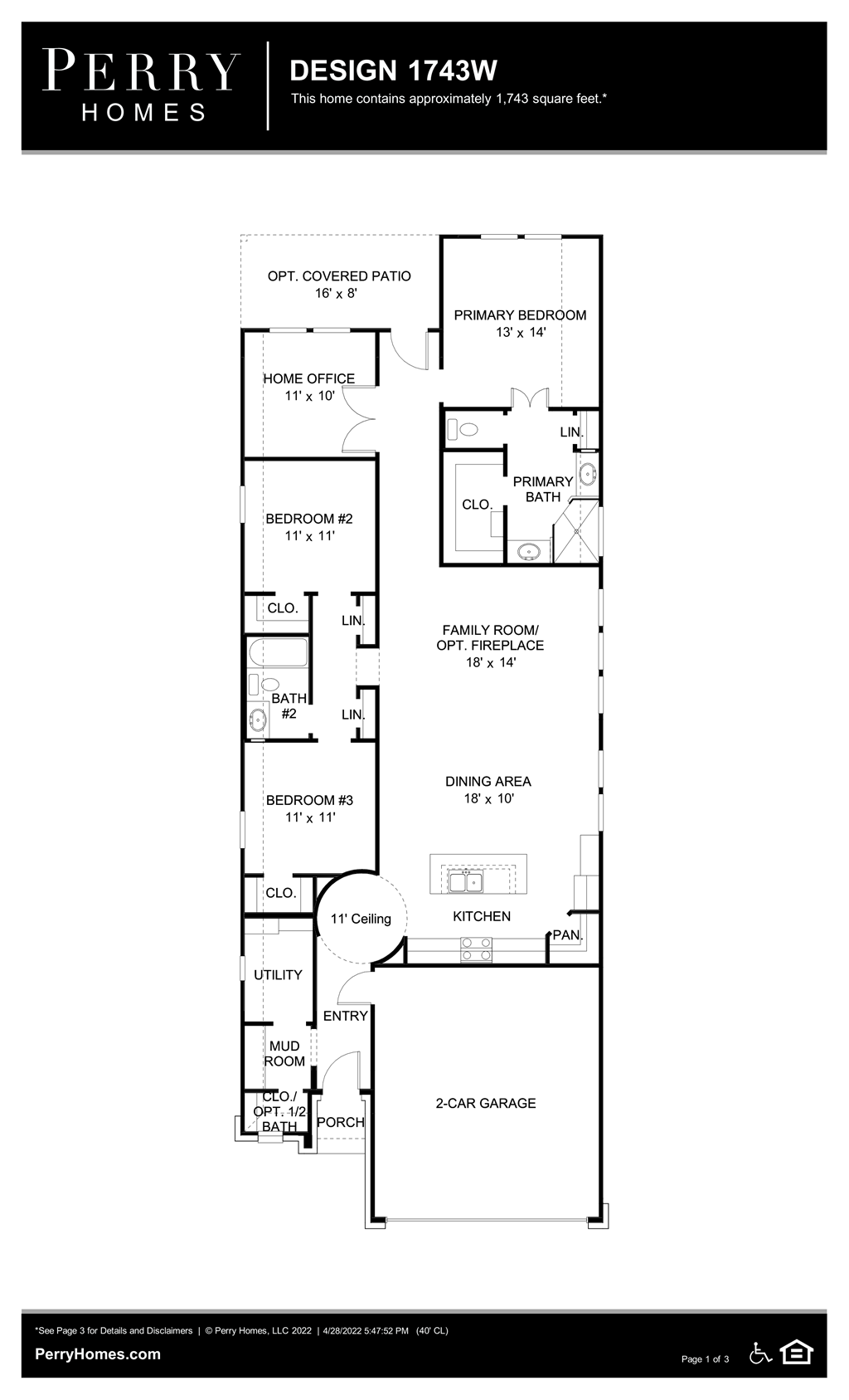 Floor Plan for 1743W