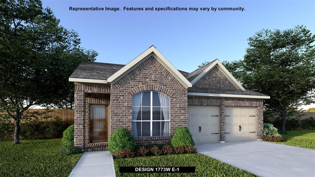 New Home Design, 1,773 sq. ft., 3 bed / 2.0 bath, 2-car garage