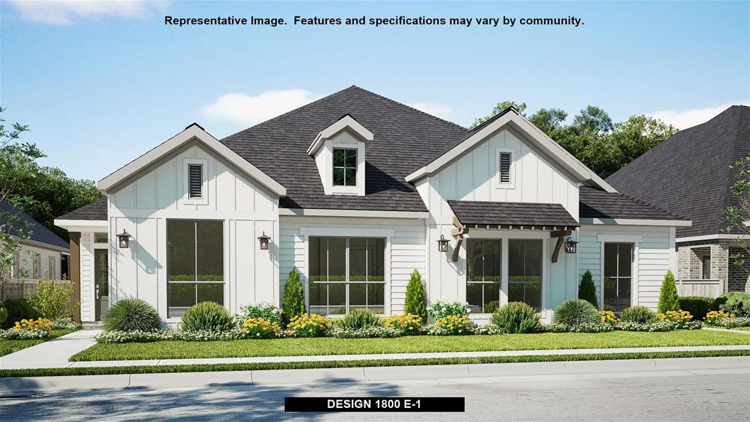 New Home Design, 1,800 sq. ft., 3 bed / 2.0 bath, 2-car garage