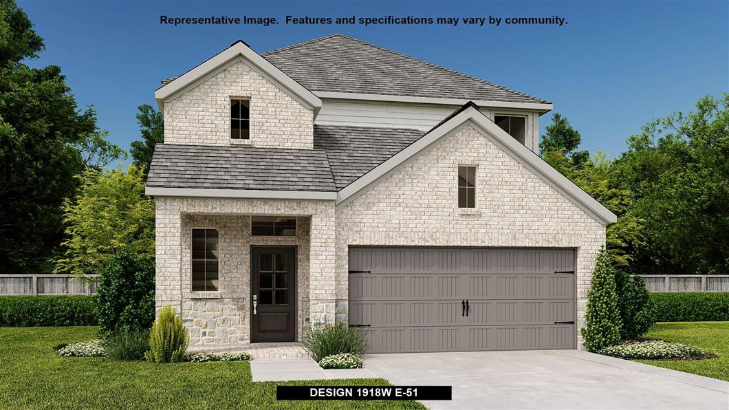 New Home Design, 1,918 sq. ft., 3 bed / 2.5 bath, 2-car garage