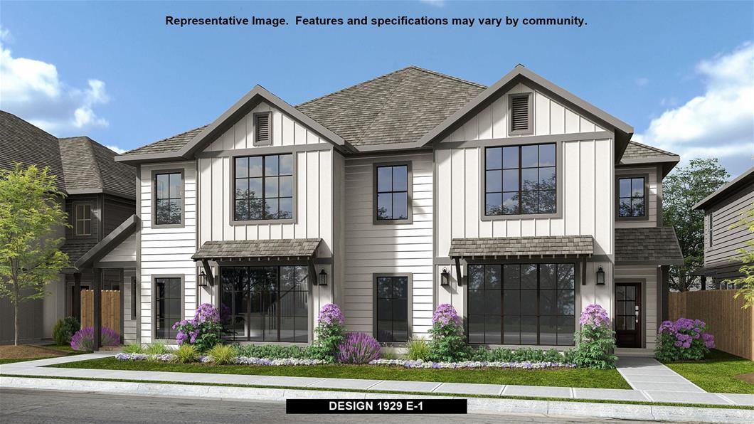 New Home Design, 1,929 sq. ft., 3 bed / 2.5 bath, 2-car garage
