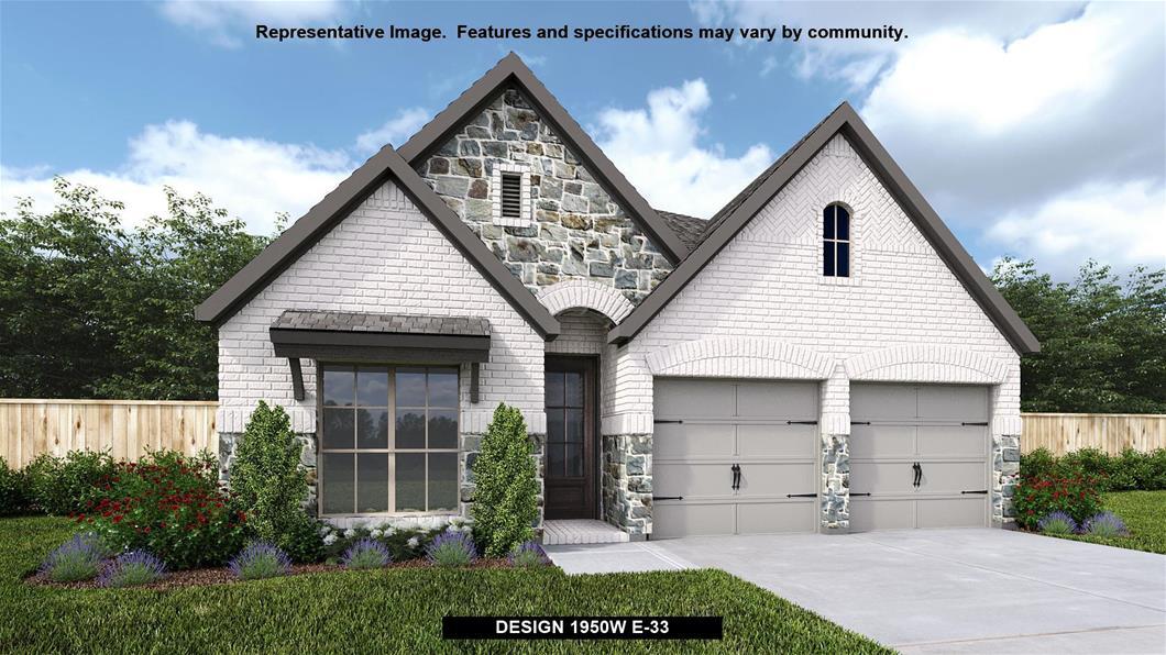New Home Design, 1,950 sq. ft., 3 bed / 2.0 bath, 2-car garage