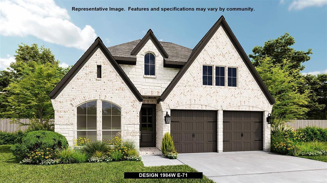 New Home Design, 1,984 sq. ft., 3 bed / 2.0 bath, 2-car garage