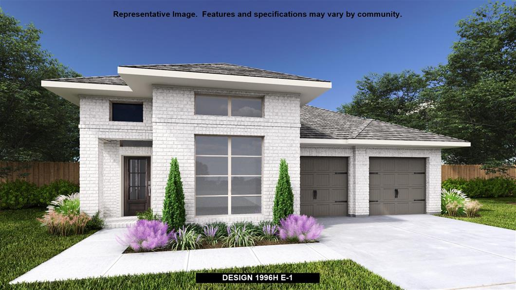 New Home Design, 1,996 sq. ft., 3 bed / 2.0 bath, 2-car garage