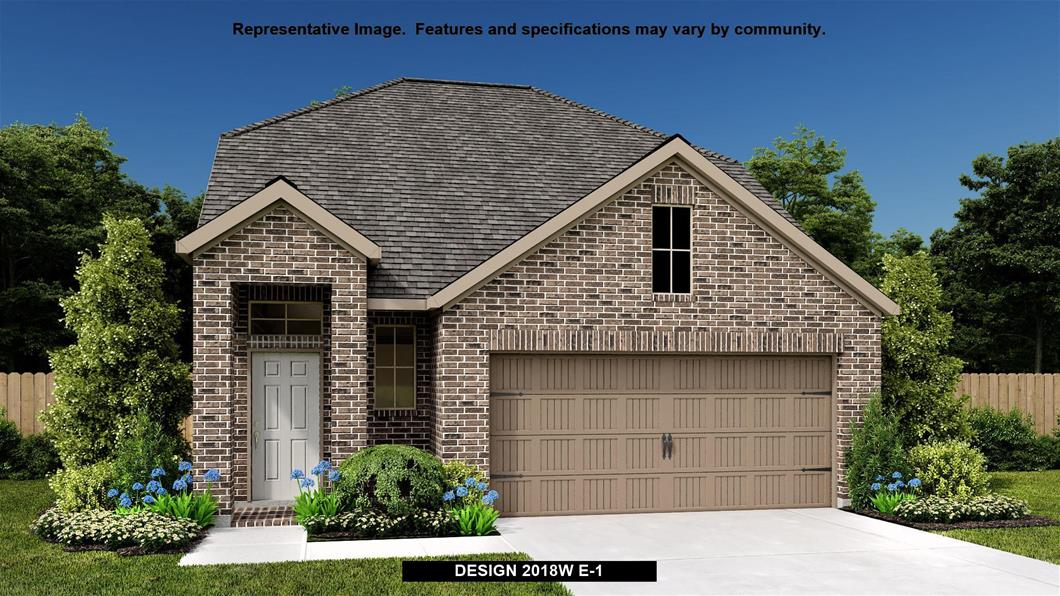 New Home Design, 2,018 sq. ft., 3 bed / 2.5 bath, 2-car garage