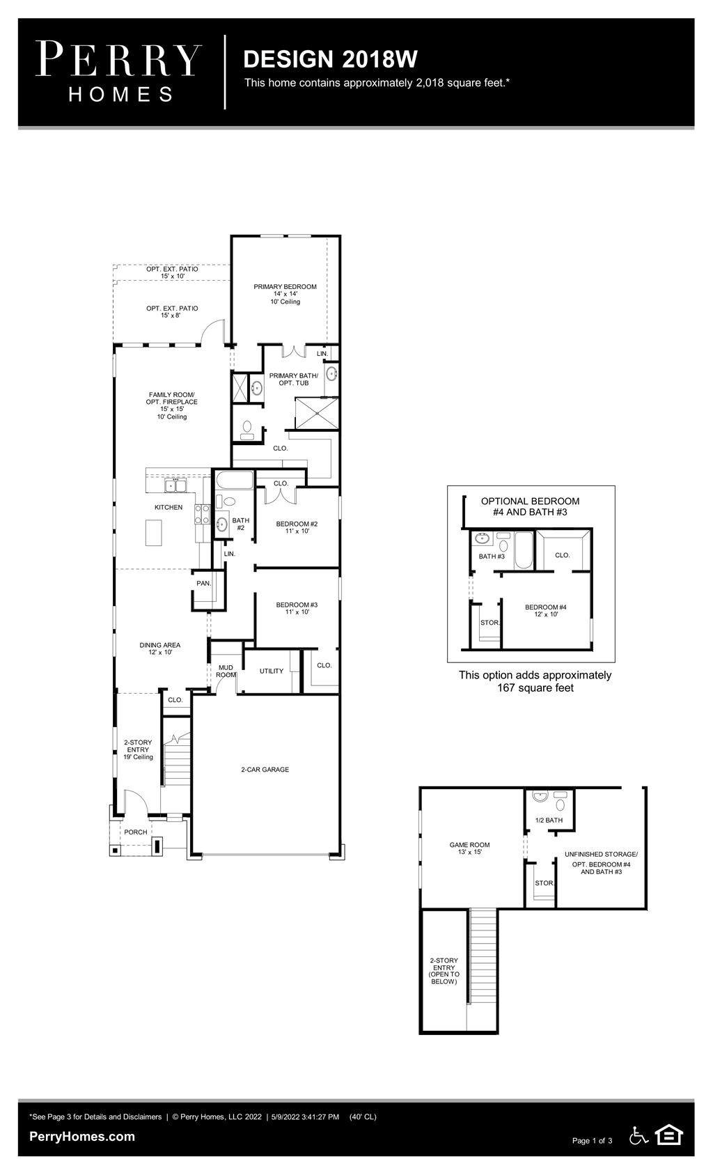 Floor Plan for 2018W