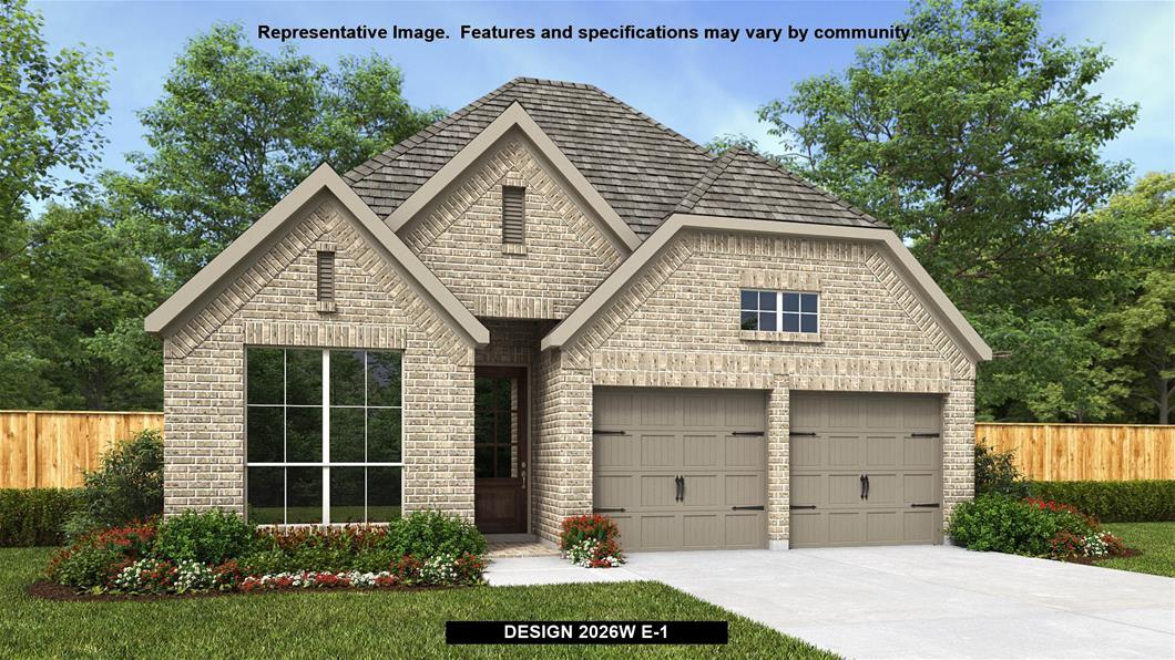 New Home Montgomery 209 North Carson Cub Court Perry Homes