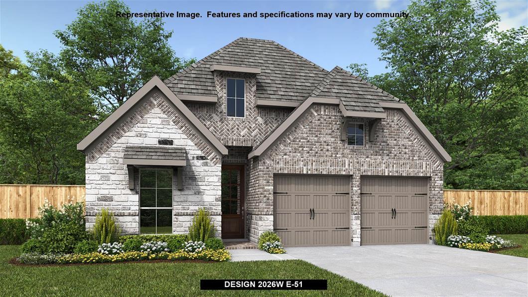 New Home Design, 2,026 sq. ft., 3 bed / 2.0 bath, 2-car garage