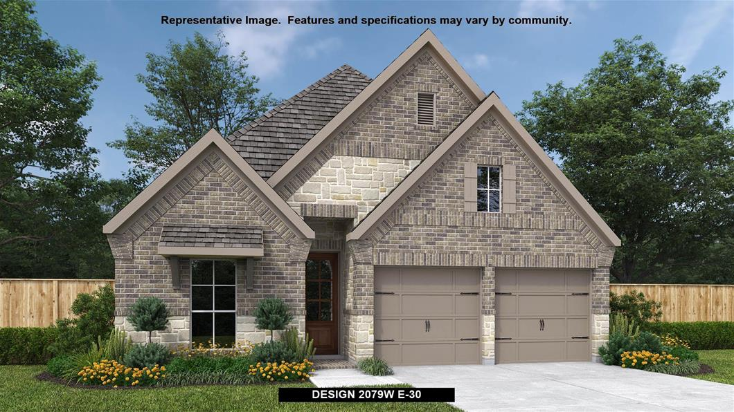 New Home Design, 2,079 sq. ft., 4 bed / 2.0 bath, 2-car garage