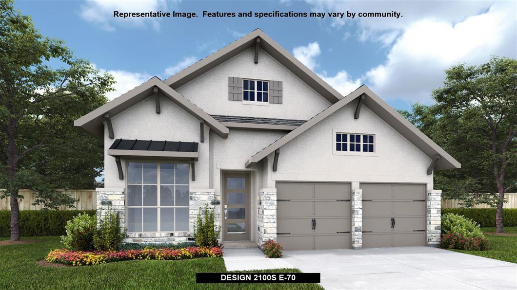 New Home Design, 2,351 sq. ft., 4 bed / 3.0 bath, 2-car garage
