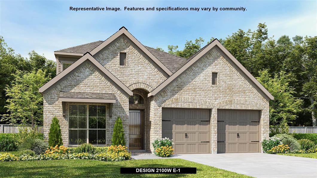 New Home Design, 2,100 sq. ft., 3 bed / 3.0 bath, 2-car garage