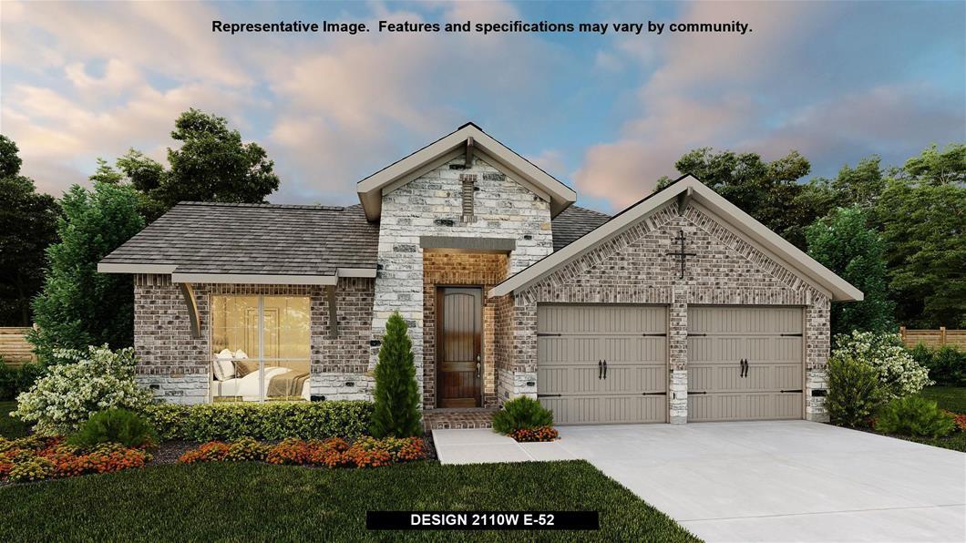 New Home Design, 2,110 sq. ft., 3 bed / 2.0 bath, 2-car garage
