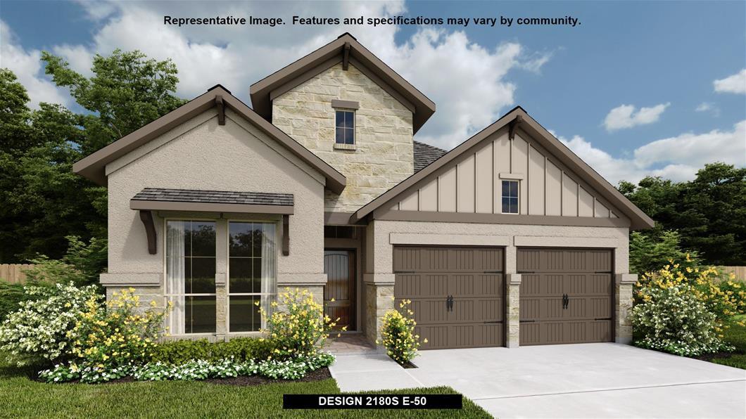 New Home Design, 2,180 sq. ft., 3 bed / 2.0 bath, 2-car garage