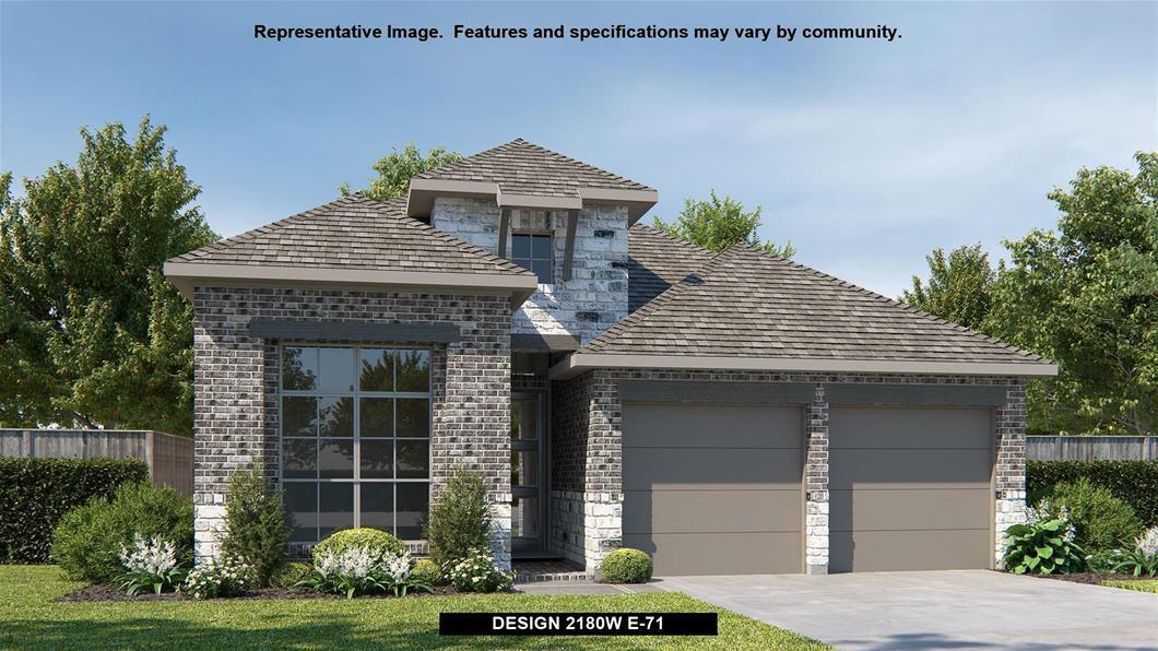 New Home Design, 2,180 sq. ft., 4 bed / 3.0 bath, 2-car garage