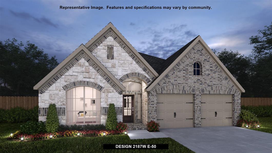 New Home Design, 2,187 sq. ft., 4 bed / 2.5 bath, 2-car garage