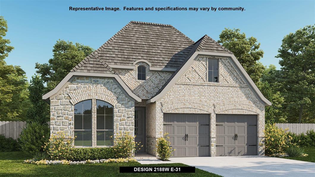 New Home Design, 2,188 sq. ft., 4 bed / 3.0 bath, 2-car garage