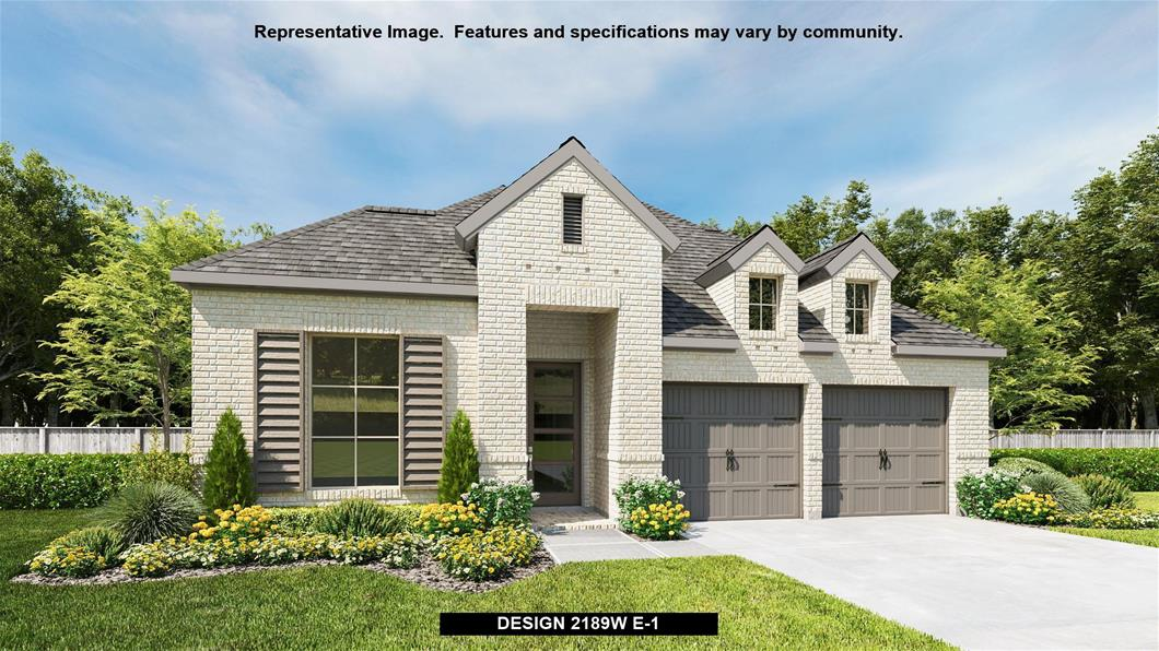 New Home Design, 2,189 sq. ft., 3 bed / 2.0 bath, 2-car garage