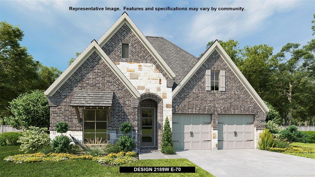 New Home Design, 2,189 sq. ft., 3 bed / 2.0 bath, 2-car garage