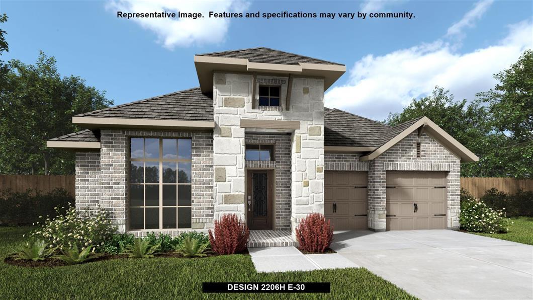 New Home Design, 2,206 sq. ft., 3 bed / 2.0 bath, 2-car garage
