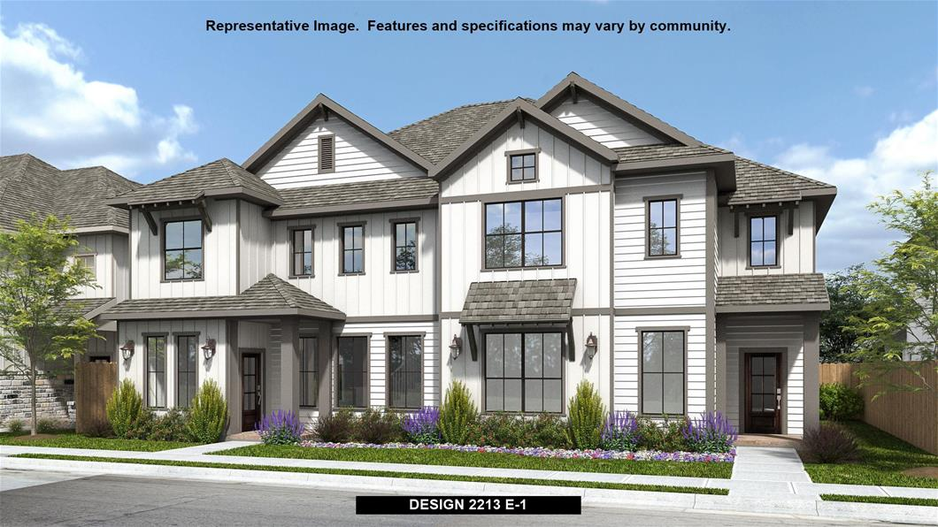 New Home Design, 2,213 sq. ft., 3 bed / 2.5 bath, 2-car garage
