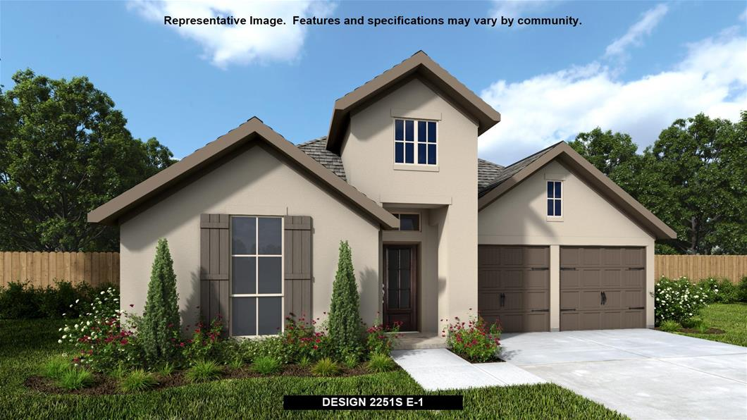 Available To Build In Balcones Creek 55 Now Open Design 2251s